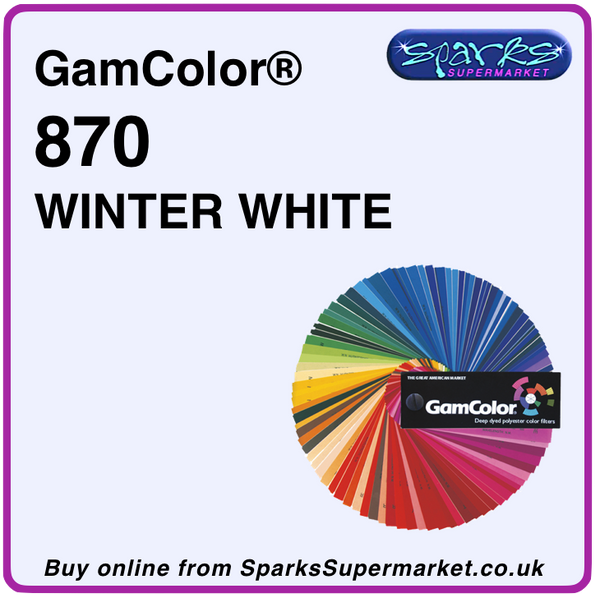 GamColor 870 WINTER WHITE (50 x 60 cm)