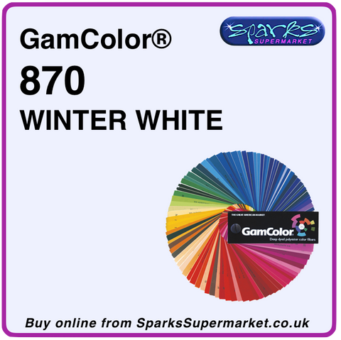 Gam 870 Winter White