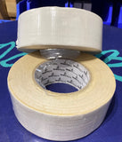 WHITE GLOSS GAFFA TAPE 50MM X 50M
