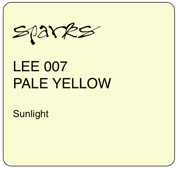 LEE 007 PALE YELLOW