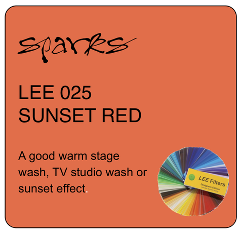 LEE 025 SUNSET RED