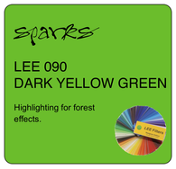 LEE 090 DARK YELLOW GREEN
