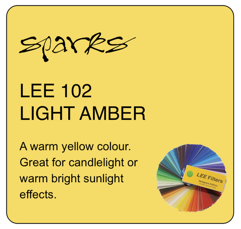 LEE 102 LIGHT AMBER