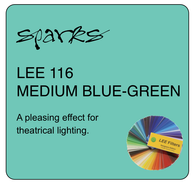 LEE 116 MEDIUM BLUE GREEN