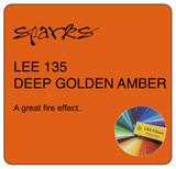 LEE 135 DEEP GOLDEN AMBER