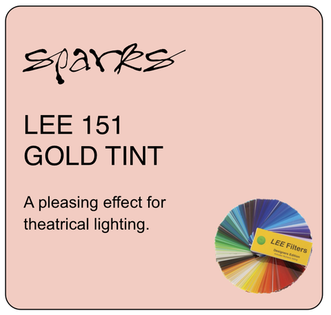 LEE 151 GOLD TINT
