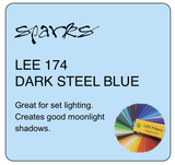 LEE 174 DARK STEEL BLUE