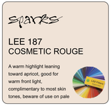 LEE 187 COSMETIC ROUGE L187