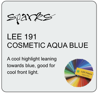 LEE 191 COSMETIC AQUA BLUE