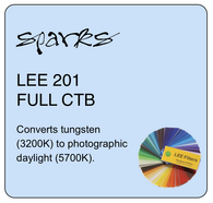 LEE FILTERS 201 FULL CTB