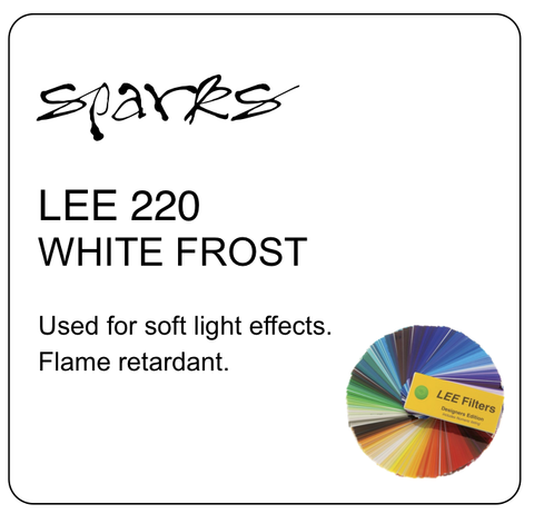 LEE 220 WHITE FROST