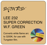 LEE 232 SUPER CORRECTION W.F. GREEN