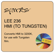LEE 236 HMI (TO TUNGSTEN)