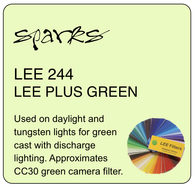 LEE 244 LEE PLUS GREEN