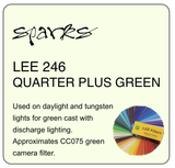 LEE 246 QUARTER PLUS GREEN