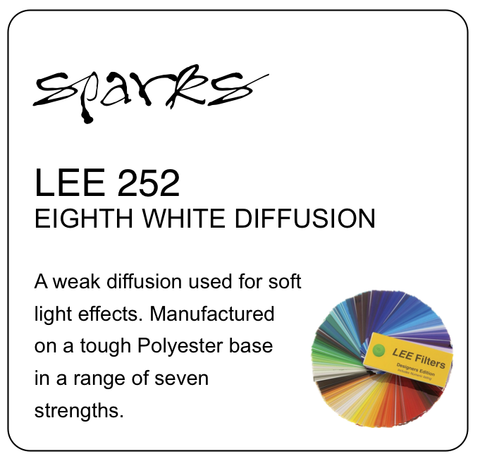 LEE 252 EIGHTH WHITE DIFFUSION