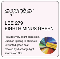 LEE 279 EIGHTH MINUS GREEN
