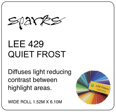 LEE 429 QUIET FROST WIDE ROLL 1.52M X 6.10M