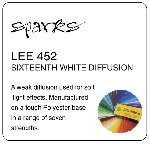 LEE 452 SIXTEENTH WHITE DIFFUSION