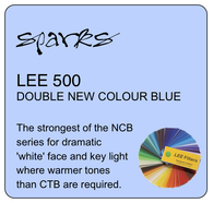 LEE 500 DOUBLE NEW COLOUR BLUE