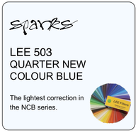 LEE 503 QUARTER NEW COLOUR BLUE