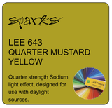 LEE 643 QUARTER MUSTARD YELLOW