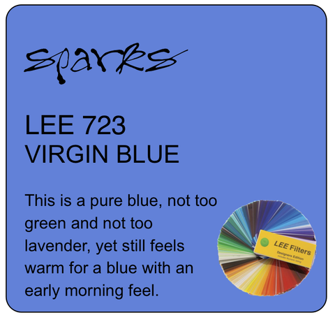 LEE 723 VIRGIN BLUE