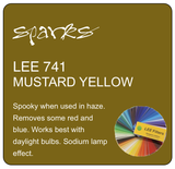 LEE 741 MUSTARD YELLOW
