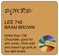 LEE 742 BRAM BROWN