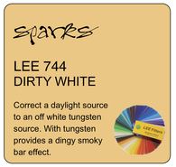 LEE 744 DIRTY WHITE