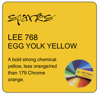 LEE 768 EGG YOLK YELLOW
