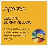 LEE 770 BURNT YELLOW