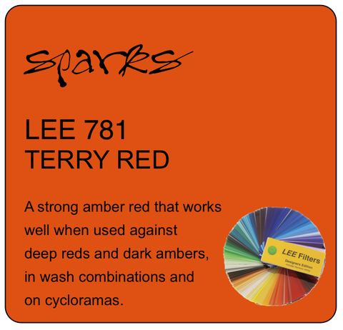 LEE 781 TERRY RED