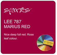 LEE 787 MARIUS RED
