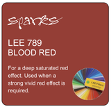 LEE 789 BLOOD RED