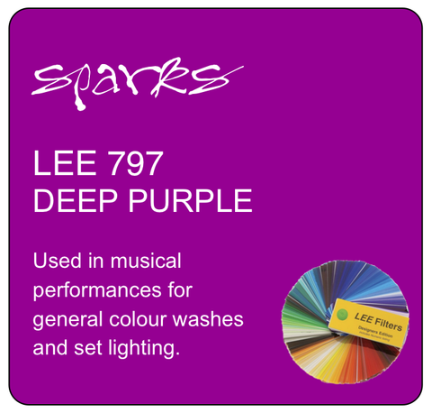 LEE 797 DEEP PURPLE