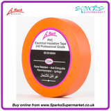 LE MARK ORANGE PVC LX TAPE