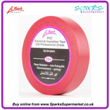 LE MARK RED PVC LX TAPE