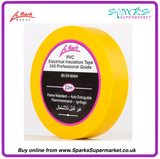 LE MARK YELLOW PVC LX TAPE