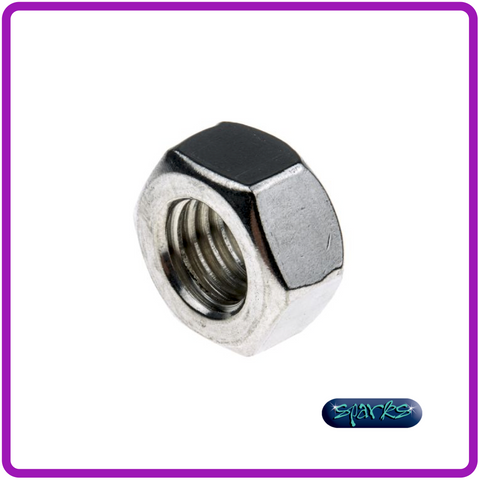 M10 Stainless Steel, Hex Nut