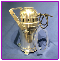 PAR 64 LANTERN POLISHED ALUMINIUM INCLUDES CP62 LAMP
