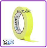 PRO GAFF FLUORESCENT GAFFA TAPE HI VIS YELLOW