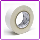 GLOSS GAFFA TAPE TICKITAPE WHITE