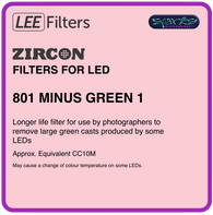 LEE ZIRCON 801 ZIRCON MINUS GREEN 1 - L801