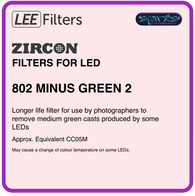LEE ZIRCON 802 ZIRCON MINUS GREEN 2 - L802