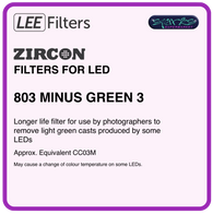 LEE ZIRCON 803 ZIRCON MINUS GREEN 3 - L803