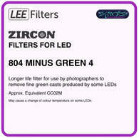 LEE ZIRCON 804 ZIRCON MINUS GREEN 4 - L804