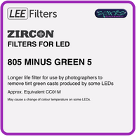 LEE ZIRCON 805 ZIRCON MINUS GREEN 5 - L805