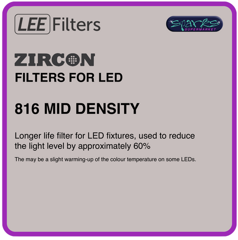 LEE ZIRCON 816 MID DENSITY - L816