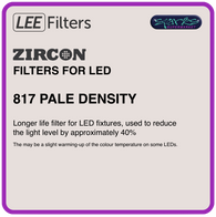 LEE ZIRCON 817 PALE DENSITY - L817